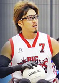 ウィルチェアラグビー日本代表選手 池崎 大輔